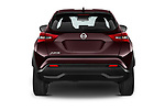 Straight rear view of 2020 Nissan Juke 5 Door SUV Rear View  stock images