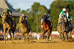 AUG 24: Honor Code with John Velazquez wins the Travers Stakes at Saratoga Racecourse in New York on August 24, 2019. Evers/Eclipse Sportswire/CSM