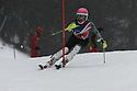 04/01/2015 under 16 girls slalom run 1