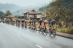The peloton during Stage 17 of La Vuelta d'Espana 2021, running 185.8km from Unquera to Lagos de Covadonga, Spain. 1st September 2021.    <br /> Picture: Cxcling   Cyclefile<br /> <br /> All photos usage must carry mandatory copyright credit (© Cyclefile   Cxcling)