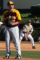 March 7, 2010:  Alex Friedrich of the Central Florida Knights during game at Jay Bergman Field in Orlando, FL.  Central Florida lost to Central Michigan by the score of 7-4.  Photo By Mike Janes/Four Seam Images