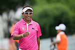 Thongchai Jaidee of Thailand smiles during Hong Kong Open golf tournament at the Fanling golf course on 25 October 2015 in Hong Kong, China. Photo by Aitor Alcade / Power Sport Images