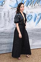 LONDON, UK. June 25, 2019: Felicity Jones arriving for the Serpentine Gallery Summer Party 2019 at Kensington Gardens, London.<br /> Picture: Steve Vas/Featureflash