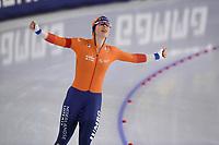 SPEEDSKATING: HEERENVEEN: 17-01-2021, IJsstadion Thialf,  ISU European Championships, Antoinette de Jong, ©photo Martin de Jong SPEEDSKATING: HEERENVEEN: 17-01-2021, IJsstadion Thialf, ISU European Speed Skating Championships, ©photo Martin de Jong