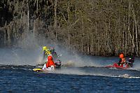 Frame 10: Serena Durr 96-F, Erin Pittman 6-H crash. (Outboard Hydroplanes)