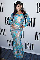 BEVERLY HILLS, CA, USA - MAY 13: Mayra Veronica at the 62nd Annual BMI Pop Awards held at the Regent Beverly Wilshire Hotel on May 13, 2014 in Beverly Hills, California, United States. (Photo by Xavier Collin/Celebrity Monitor)