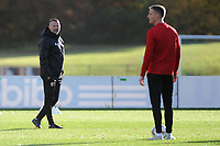 Ryan Giggs Manager of Wales watches on during the Wales Training Session at The Vale Resort in Cardiff, Wales, UK. Monday 12 November 2018