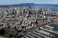aerial photograph San Francisco skyline