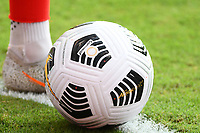 KANSAS CITY, KS - JULY 15: CONCACAF match ball during a game between Canada and Haiti at Children's Mercy Park on July 15, 2021 in Kansas City, Kansas.