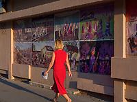 Slowakische Minderheit, Haus der naiven Malerei in Kovacica, Vojvodina, Serbien, Europa<br /> Slowakian minority, house of naive painting, Kovacica,, Vojvodina, Serbia, Europe