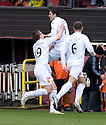 :: MOTHERWELL'S JOHN SUTTON CELEBRATES AFTER HE SCORES THE FIRST ::