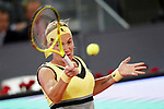 Svetlana Kuznetsova, Russia, during Madrid Open Tennis 2017 match. May 11, 2017.(ALTERPHOTOS/Acero)