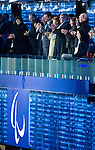 Sochi, RUSSIA - Mar 7 2014 -  President of the Russian Federation Vladimir Putin attends the Opening Ceremonies of the Sochi 2014 Paralympic Winter Games  in Fisht Stadium in Sochi, Russia.  (Photo: Matthew Murnaghan/Canadian Paralympic Committee)