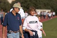 SAN ANTONIO, TX - OCTOBER 28, 2006: The University of Texas at San Antonio Roadrunners Walk for Women's Athletics Fundraiser at the UTSA Convocation Center and UTSA Track. (Photo by Jeff Huehn)