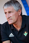 Real Betis' coach Quique Setien during friendly match. July 26,2017. (ALTERPHOTOS/Acero)