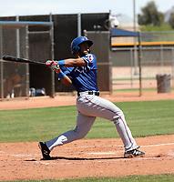 Yaniery Guzman - Texas Rangers 2019 extended spring training (Bill Mitchell)
