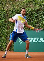 09-06-13, Tennis, Netherlands,The Hague, Playoffs Competition, Thomas Schoorel