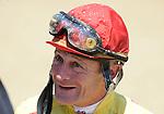 10 April 10: Jockey Calvin Borel on Arkansas Derby Day at Oaklawn Park in Hot Springs, Arkansas.