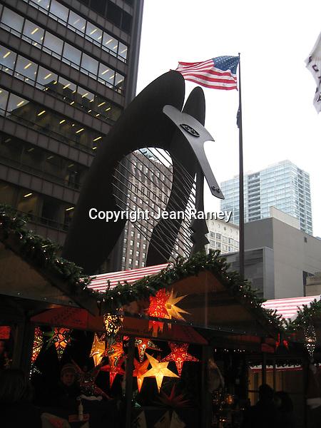 Christkindl Market, Daley Plaza, Chicago