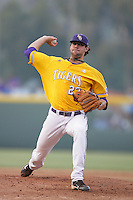 June 5, 2010: Anthony Ranaudo of LSU during NCAA Regional game against UCLA at Jackie Robinson Stadium in Los Angeles,CA.  Photo by Larry Goren/Four Seam Images