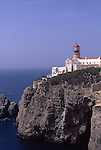 Europe, PRT, Portugal, Algarve, Sagres, Cabo de Sao Vicente, Lighthouse