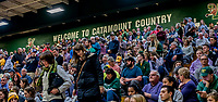 19 January 2019: University of Vermont Catamount Fans enjoy a weekend Men's Basketball game against Binghamton University Bearcats at Patrick Gymnasium in Burlington, Vermont. The Bearcats fell to the Catamounts 78-50 in America East conference play. Mandatory Credit: Ed Wolfstein Photo *** RAW (NEF) Image File Available ***