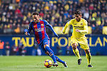 Neymar da Silva Santos Junior (l) of FC Barcelona battles for the ball with Jonathan Dos Santos of Villarreal CF during their La Liga match between Villarreal and FC Barcelona at the Estadio de la Cerámica on 08 January 2017 in Villarreal, Spain. Photo by Maria Jose Segovia Carmona / Power Sport Images