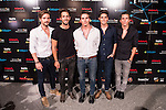 De vicio attends the photocall before the concert of colombian singer Juanes in Royal Theater in Madrid, Spain. July 23, 2015.<br />  (ALTERPHOTOS/BorjaB.Hojas)