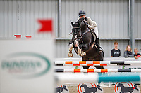NZL-Natasha Brooks rides Versace C. Class 22: Sky Sort Next Horse 1.30m Ranking Class. 2021 NZL-Easter Jumping Festival presented by McIntosh Global Equestrian and Equestrian Entries. NEC Taupo. Saturday 3 April. Copyright Photo: Libby Law Photography