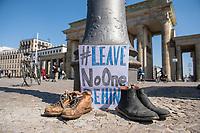2020/04/05 Berlin | Politik | Seebruecke-Aktion