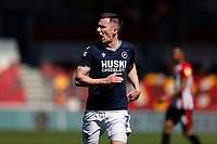 17th April 2021; Brentford Community Stadium, London, England; English Football League Championship Football, Brentford FC versus Millwall; Jed Wallace of Millwall