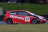 Round 9 of the 2002 British Touring Car Championship. #27 Alan Morrison (GBR). Honda Racing. Honda Civic Type-R.