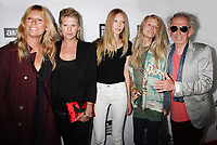 Patti Hansen, daughters, Keith Richards, 2013, Photo By John Barrett/PHOTOlink