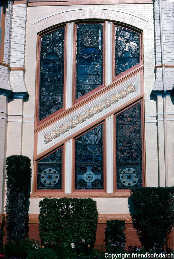 San Diego: Britt House, Detail.  (Photo '85)