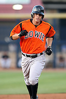 July 10th 2008:  Lou Montanez of the Bowie Baysox, Class-AA affiliate of the Baltimore Orioles, during a game at Canal Park in Akron, OH.  Photo by:  Mike Janes/Four Seam Images