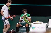 Rotterdam, The Netherlands, 28 Februari 2021, ABNAMRO World Tennis Tournament, Ahoy, First round match: Andy Murray (GBR) vs. Robin Haase (GBR).<br /> Photo: www.tennisimages.com