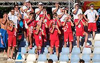 Croatia supporter<br /> <br /> swimming, nuoto<br /> LEN European Junior Swimming Championships 2021<br /> Rome 2176<br /> Stadio Del Nuoto Foro Italico <br /> Photo Giorgio Scala / Deepbluemedia / Insidefoto
