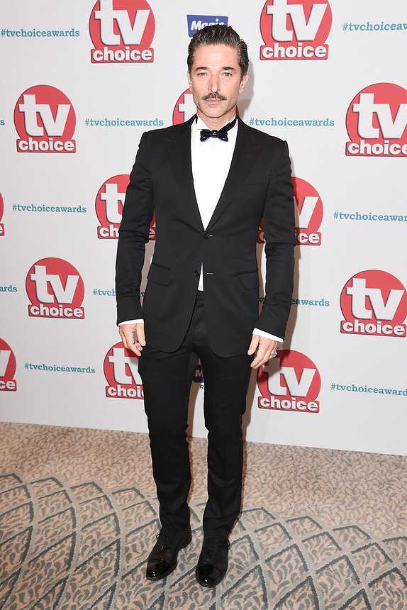 Jake Canuso<br /> arriving for the TV Choice Awards 2017 at The Dorchester Hotel, London. <br /> <br /> <br /> ©Ash Knotek  D3303  04/09/2017