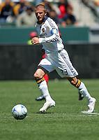 LA Galaxy midfielder (23) David Beckham during a MLS match. Toronto defeated the LA Galaxy 3-2 at the Home Depot Center Carson, California, Sunday April 13, 2008.