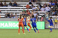 Houston, TX - Sunday Sept. 25, 2016: Mangos during a regular season National Women's Soccer League (NWSL) match between the Houston Dash and the Seattle Reign FC at BBVA Compass Stadium.