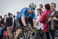 Wout Van Aert (BEL/Veranda's Willems Crelan) chasing. <br /> <br /> <br /> 116th Paris-Roubaix (1.UWT)<br /> 1 Day Race. Compiègne - Roubaix (257km)