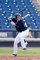 AZL Brewers first baseman Pat McInerney (62) at bat against the AZL Padres 2 on September 2, 2017 at Maryvale Baseball Park in Phoenix, Arizona. AZL Brewers defeated the AZL Padres 2 2-0. (Zachary Lucy/Four Seam Images)