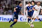 Shibasaki Gaku of Japan in action during the AFC Asian Cup UAE 2019 Semi Finals match between I.R. Iran (IRN) and Japan (JPN) at Hazza Bin Zayed Stadium  on 28 January 2019 in Al Alin, United Arab Emirates. Photo by Marcio Rodrigo Machado / Power Sport Images