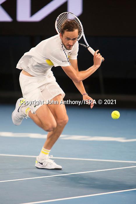 Danel Medvedev loses to Novak Djokovic at the 2021 Australian Open