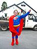 Superwoman at the Llanafan Carnival