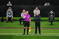 Steve Cooper Head Coach of Swansea City during the Sky Bet Championship match between Swansea City and Millwall at the Liberty Stadium in Swansea, Wales, UK. Saturday 03 October 2020