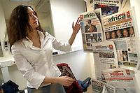 """- """"Stranieri in Italia"""", publishing house of Rome that publishes an Internet portal of services for immigrates and twelve ethnic headlines, for a total of 150 thousand copies to the month, Federica Gaida, publishing coordinator....- Stranieri in Italia, casa editrice di Roma che pubblica un portale Internet di servizi per immigrati e dodici testate etniche per un totale di 150mila copie al mese, Federica Gaida, coordinatore editoriale"""