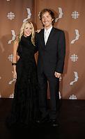 Montreal (Qc) CANADA - Sept 14, 2008 - <br /> <br /> Mariloup Wolfe, Emmanuel Bilodeau<br /> <br /> 2008 Gemeaux Gala rewarding French-Canadian television.