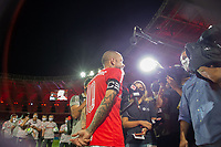 19th December 2020; Beira-Rio Stadium, Porto Alegre, Brazil; Brazilian Serie A, Internacional versus Palmeiras; D'Alessandro of Internacional, during a press conference after his last match as a professional player at 39 years of age