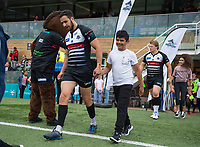 Mascots before the Betfred Championship match between London Broncos and Rochdale Hornets at Castle Bar , West Ealing , England  on 17 June 2018. Photo by Andrew Aleksiejczuk / PRiME Media Images.
